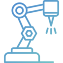 gradient-industrial-robot