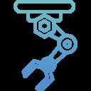 gradient-industrial-robot-arm